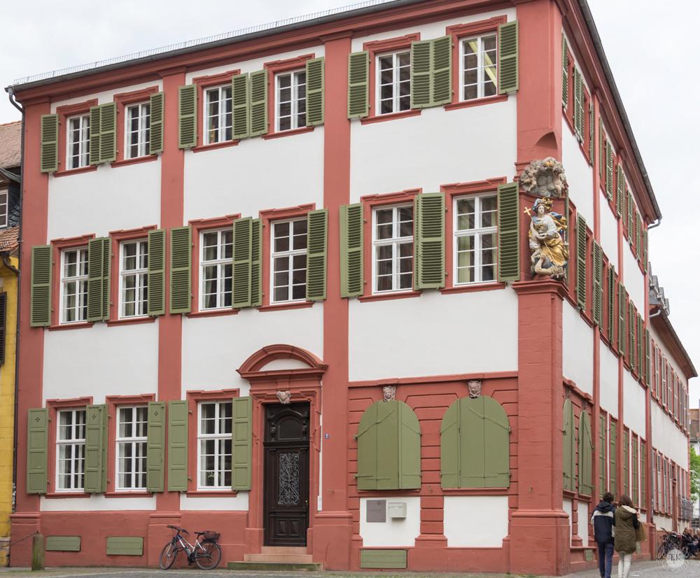 THREE LITTLE KITTENS BLOG | University Building and Hausmadonna | Heidelberg, Germany