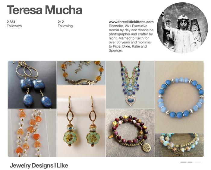 THREE LITTLE KITTENS BLOG   Pinterest   Jewelry Designs That I  Like