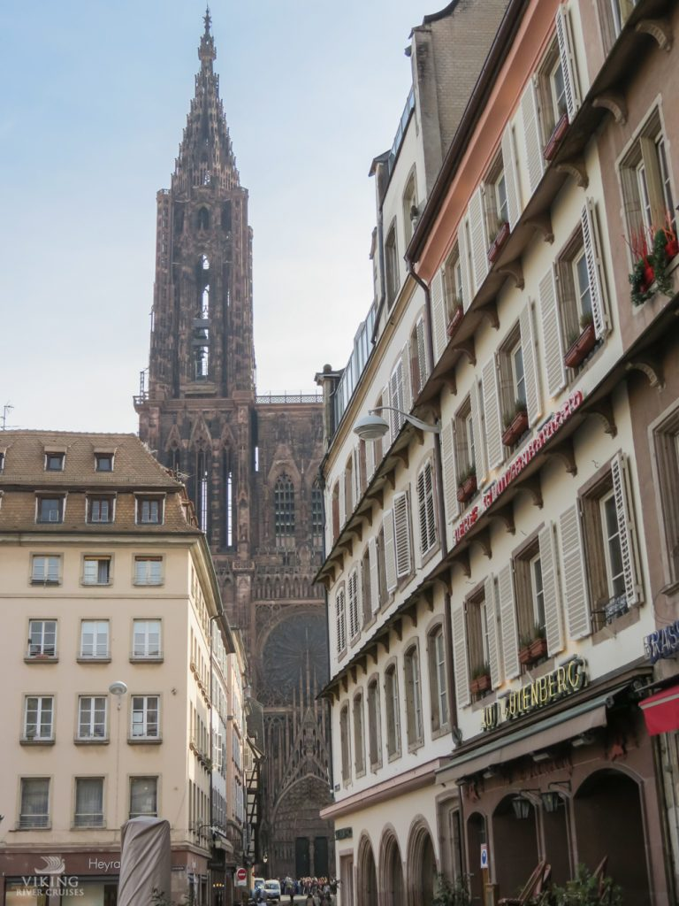 THREE LITTLE KITTENS BLOG | View of Cathedral from Place Gutenberg
