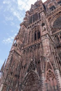 A Morning Visit to the Cathedral in Strasbourg